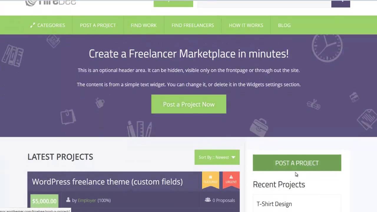 Freelance marketplace wordpress theme удаленная работа журналистика