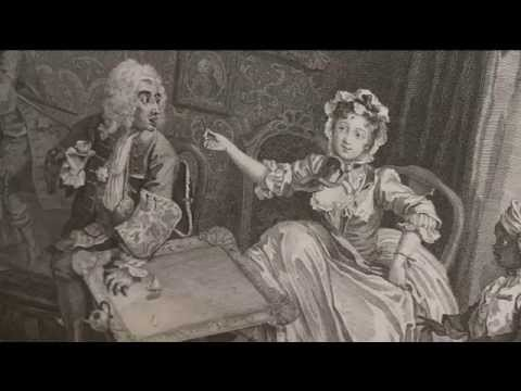 A major Hogarth exhibition opens in Bristol showcasing his bawdy prints and lesser known masterieces