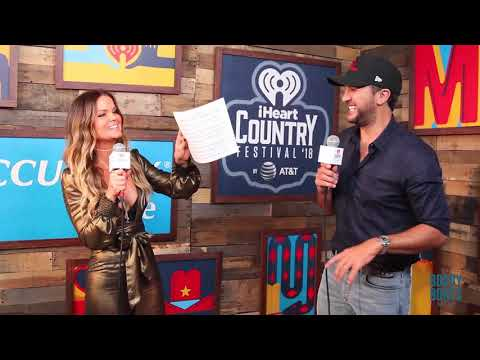 Cover Lagu Amy Interviews Luke Bryan at our iHeart Country Festival 2018 STAFABAND