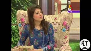 ATV Oct 6 2017 - Patient details her experience at Tahir Heart Ahmadiyya Hospital Rabwah