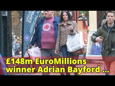 £148m EuroMillions winner Adrian Bayford 'gets over being dumped by his fiancée by wooing a Frankie