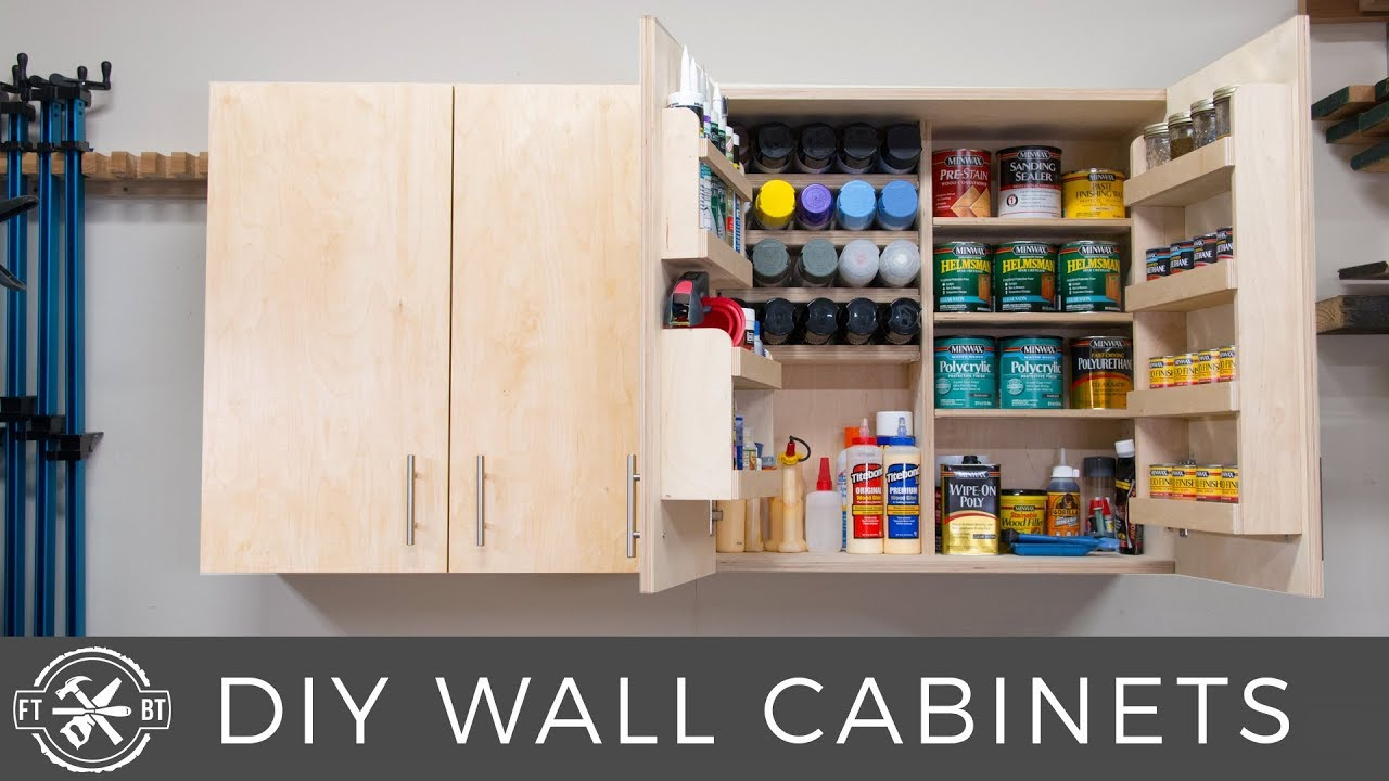 DIY Wall Cabinets with 5 Storage Options | Shop ...
