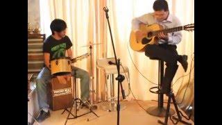 Văn Anh - Cajon shin trần - Guitarist Hoàng Như Định - Giao lưu cùng những người bạn