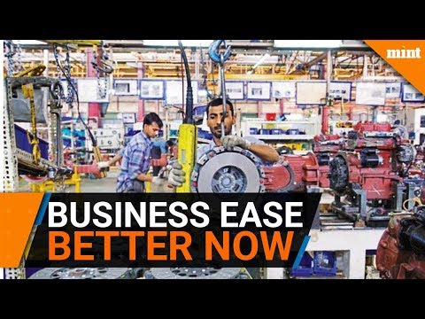 India ranks 100 in ease of doing business
