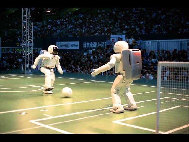 ASIMO ROBOT Honda Technology at Auto Expo greater noida , India