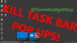 Window 10 tips: Disable those annoying Edge browser taskbar pop-up ads