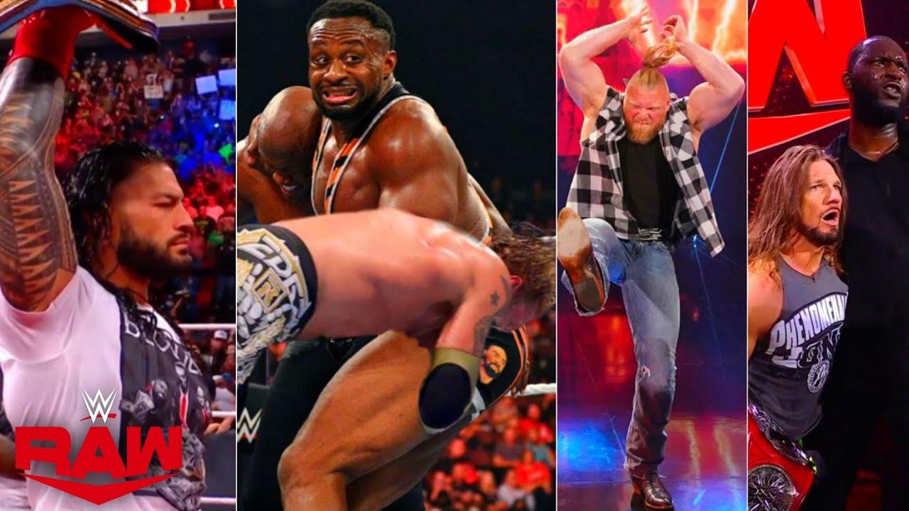WWE Monday Night Raw, 25th October 2021 Highlights! Roman Attacks BIG-E, RkBro Defend, Brock Returns
