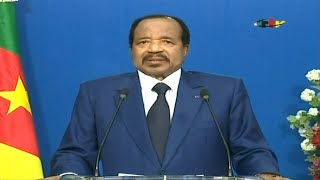 "Crise séparatiste au Cameroun: Biya ""convoque"" un ""grand dialogue national"" 