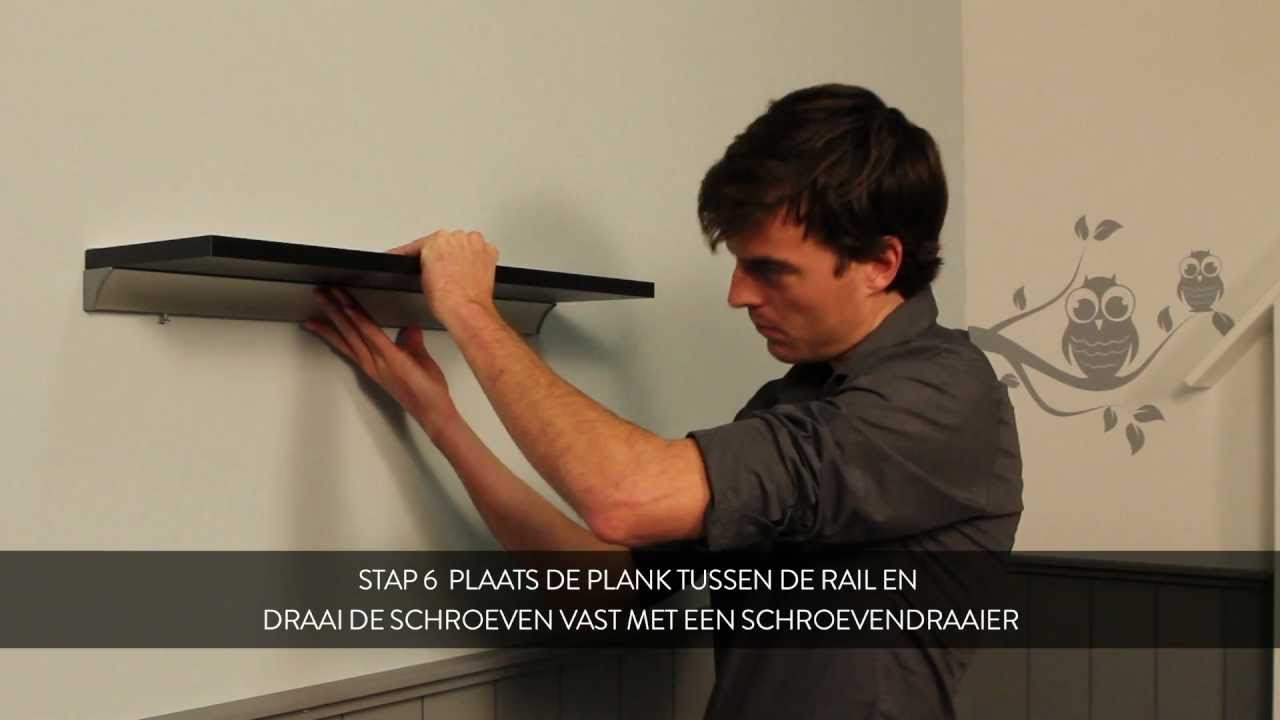 Opberg Rek How To: Duraline Rail Monteren - Nederlands - Youtube