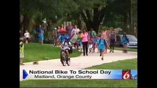 Bike to School Day with Maitland Mayor McDonald