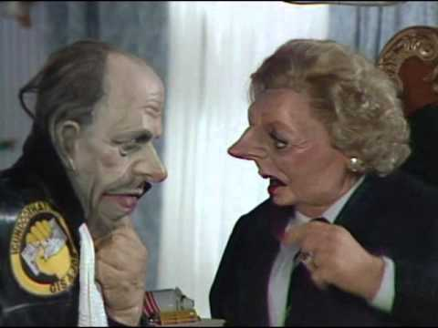 spitting image series 4  episode 1