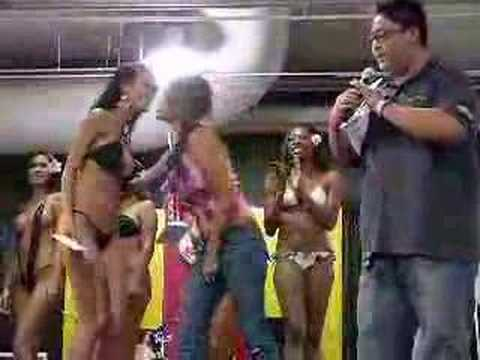 Streetcar bikini contest