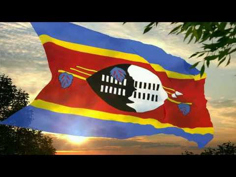 Flag and anthem of Swaziland