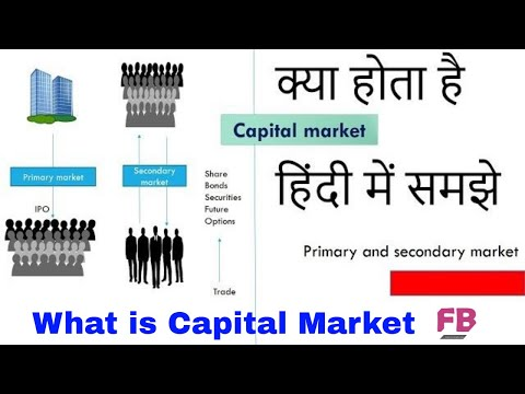 What is primary and secondary market in Hindi || what is capital Market in Hindi ||