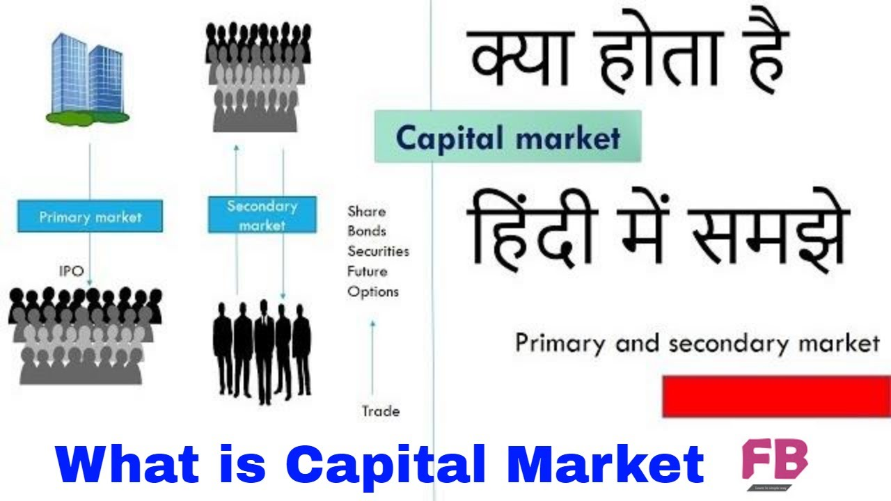 What Is Primary And Secondary Market In Hindi What Is Capital - Primary market