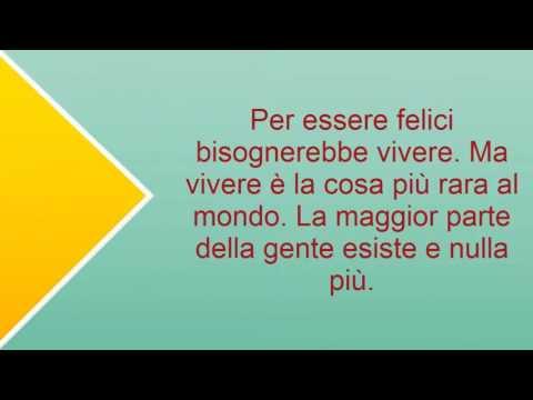 Frasi Celebri Di Oscar Wilde Sulla Vita Youtube