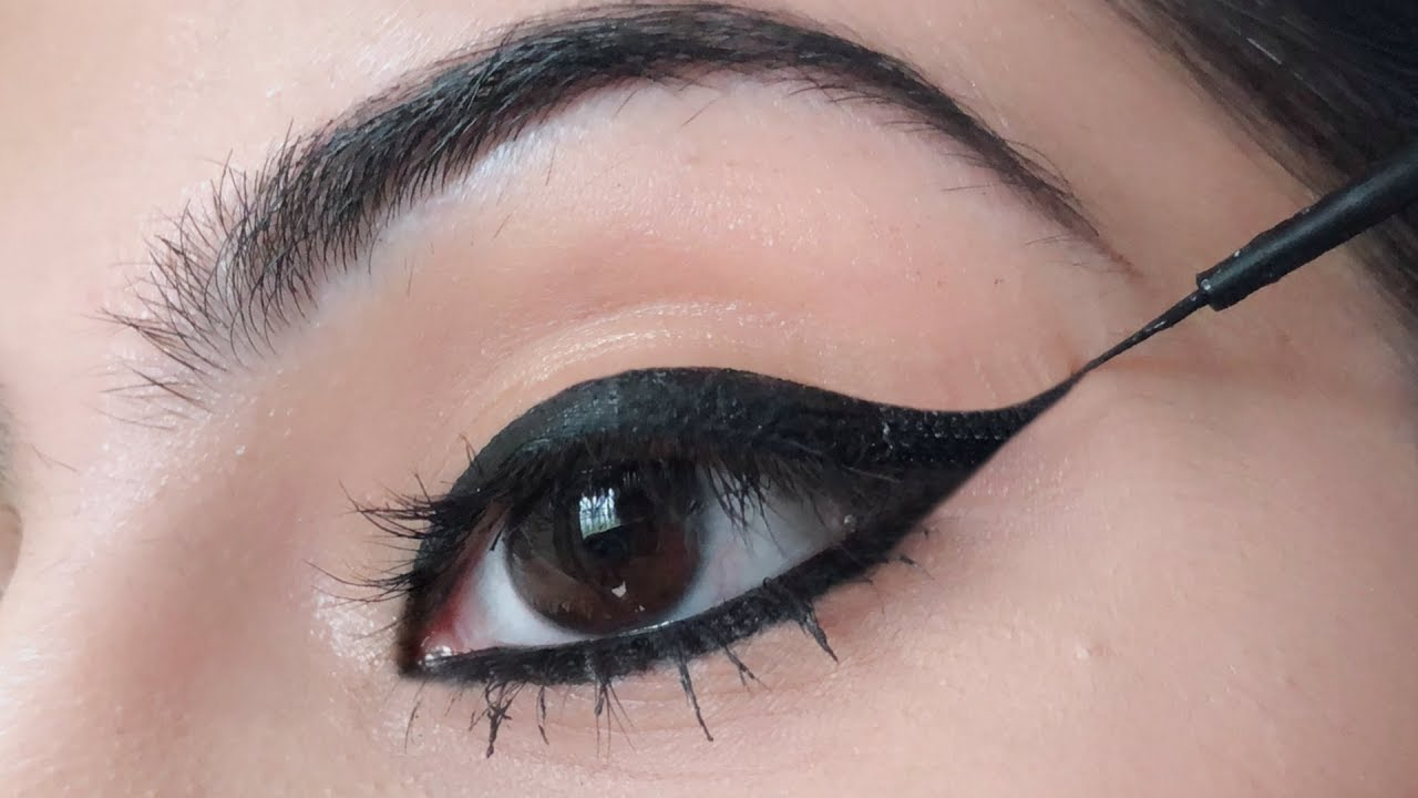 10 Different Eyeliner Looks - Using Single Kajal Pencil  ShrutiArjunAnand