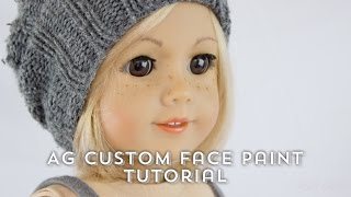 Fixing Up An Old American Girl Doll custom face paint tutorial(, 2017-01-17T20:41:31.000Z)