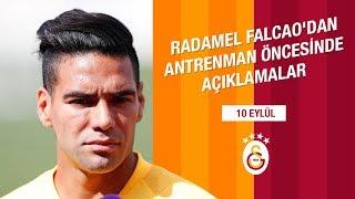 🎙 Radamel Falcao'dan Antrenman Öncesinde Açıklamalar - Galatasaray