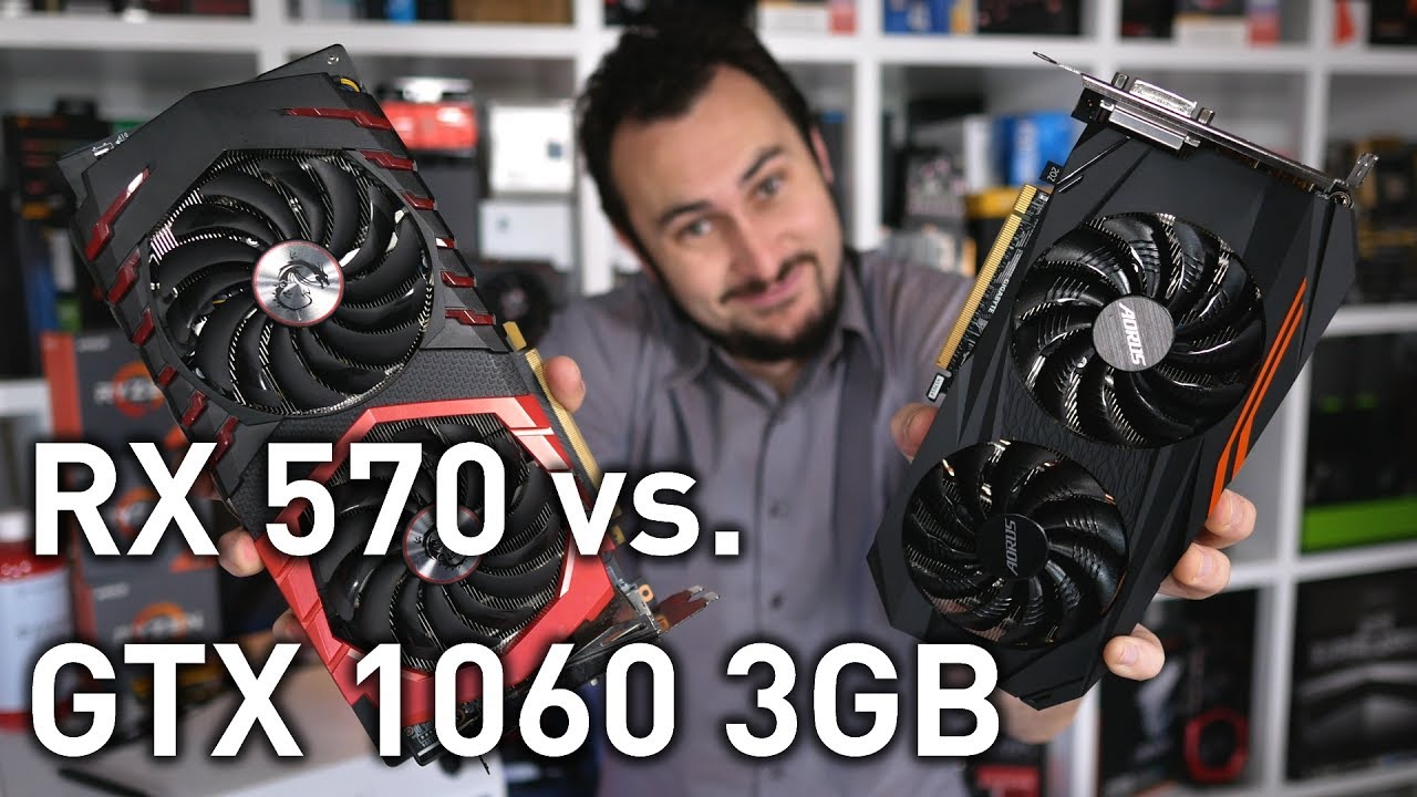 Radeon RX 570 vs  GeForce GTX 1060 3GB: 29 Games Tested!