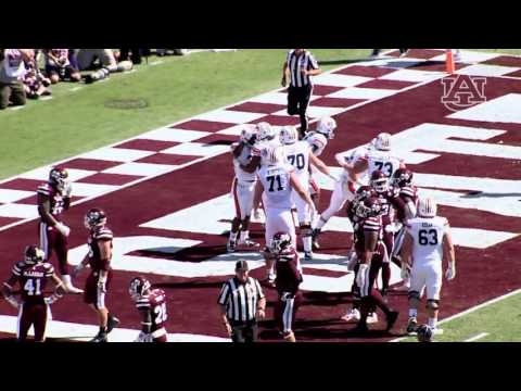 Auburn Football Defeats Mississippi State 38-14