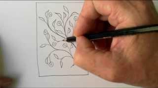 Freehand Space-filling Patterns 1: A Versatile Floral Design