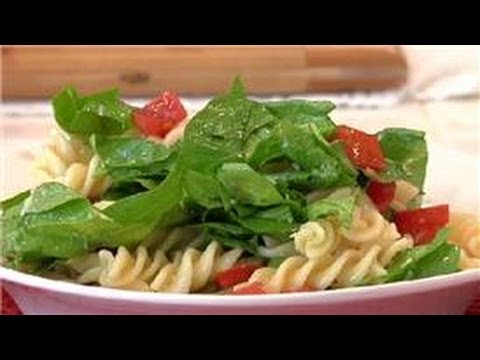 From Garden To Table : Pasta, Spinach & Tomato Salad