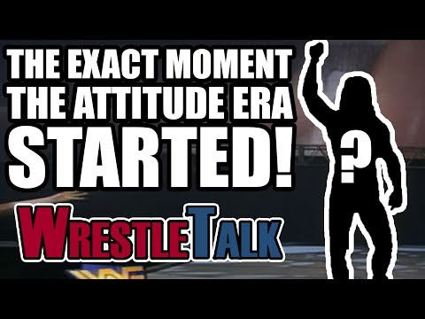 The EXACT Moment The WWE Attitude Era Started!