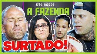 """🔴Formação da Roça: RAFAEL SURTA e ROUBA o JOGO de NADJA!   Comentando """"A Fazenda10""""   19/11/2018"""