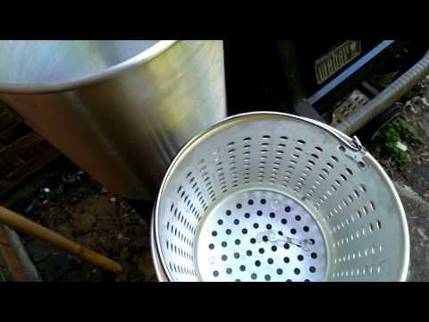 Turkey Fryer With Steam Basket