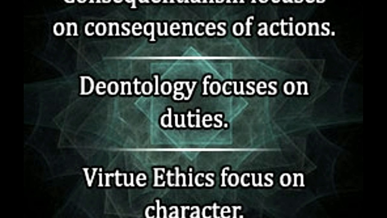 utilatarian deontology and virtue ethics Deontological ethics takes the theory of duty to be more basic  thomson flirts  with a utilitarian virtue ethics in suggesting that the true moral virtues might be.