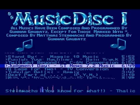 ATARI ST - Music Disc 1