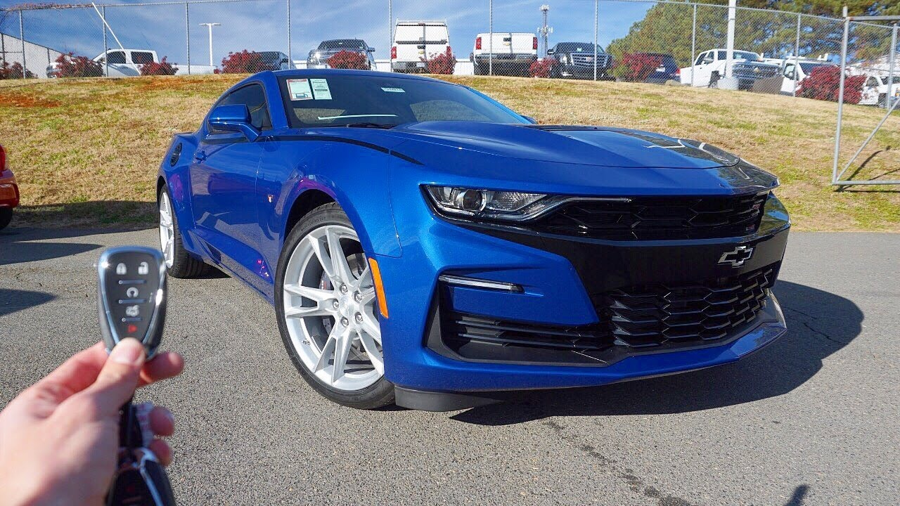 2019 Chevrolet Camaro SS (2SS w/ 10 Speed): Start Up ...