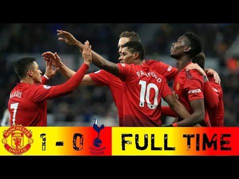 Cuplikan Gol  Man United Vs Tottenham 1-0 | Highlight | All Goals | (14-01-2019)p
