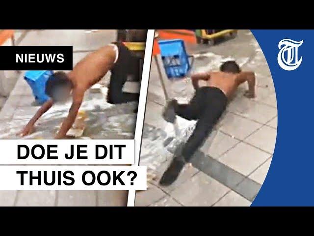 Woede om walgelijke actie in Albert Heijn
