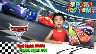 Disney CARS 3 Piston Cup Showdown Racing Game Fun! Lightning McQueen vs Jackson Storm