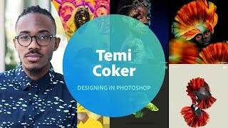 Live Designing in Photoshop with Temi Coker - 3 of 3