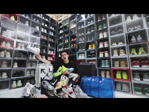 300,000!!!Visit Worth RM300,000 Sneakers Collector Closet!!!!