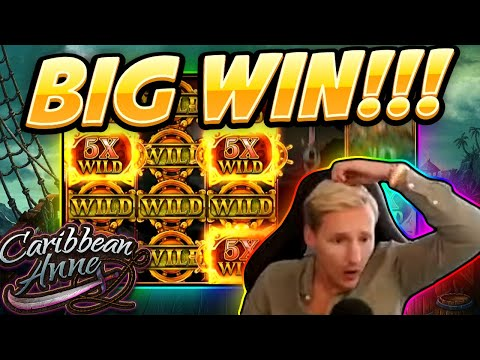 BIG WIN!!!! Caribbean Anne BIG WIN - New Casino Slot From Kalamba