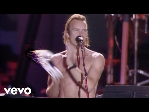 Sting - Don't Stand So Close To Me (Live) Mp3
