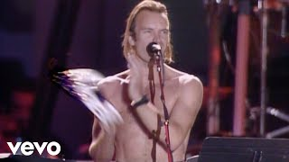 Sting - Don't Stand So Close To Me (Live) Video