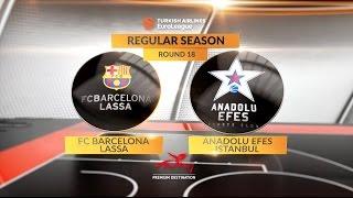Highlights: FC Barcelona Lassa-Anadolu Efes Istanbul