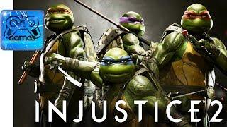 Injustice 2 - Трейлер «Черепашки-Ниндзя»