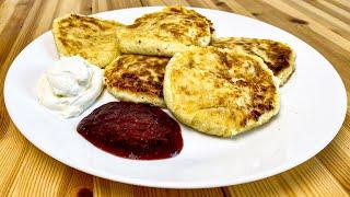 Сырники или  творожники, нестандартный рецепт без муки в составе. Home Food