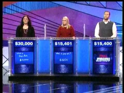 RIT on TV: Professor Hansen Wins Jeopardy, part 2