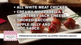 Molly's Kitchen® Premium Bacon Wrapped Jalapeno Chicken