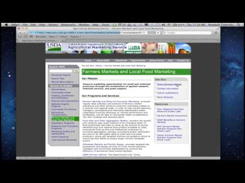 How to Find Local Farmers Markets Online