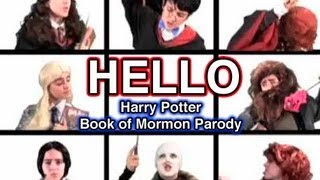 HELLO- Harry Potter Book of Mormon Parody | Tessa Netting