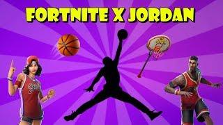 New FORTNITE X JORDAN: NBA Skins