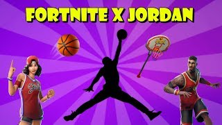 Nouveau FORTNITE X JORDAN: NBA Skins